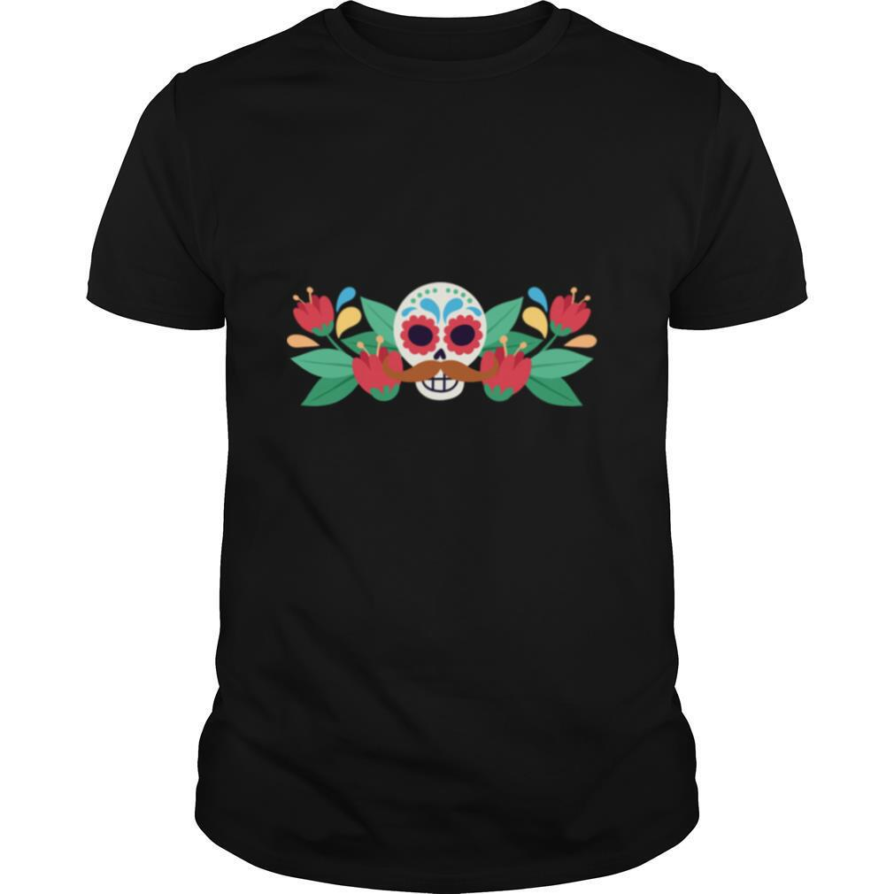Happy Sugar Skull Dia De Muertos Day Of The Dead shirt