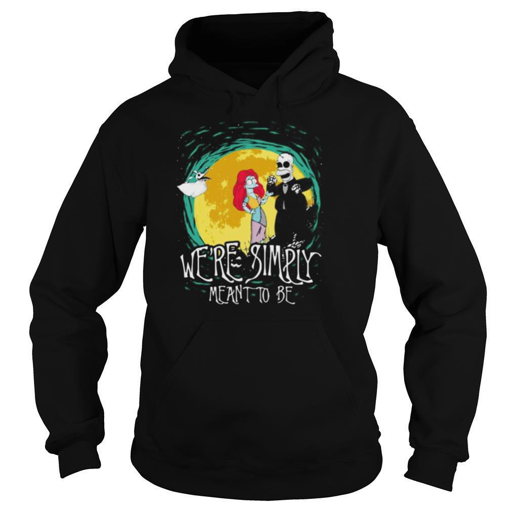 The simpson nightmare we're simply meant to be halloween shirt