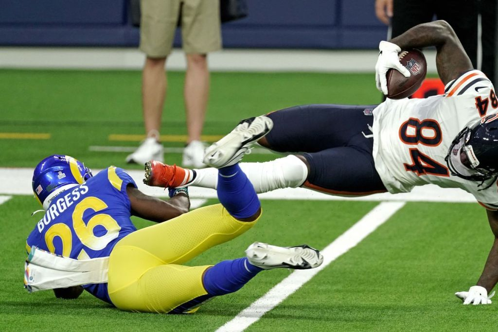 Los Angeles Rams 3rd-Round Rookie Safety Terrell Burgess Out For Year With Broken Ankle