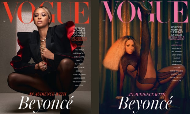 Beyonce covers December issue of British Vogue