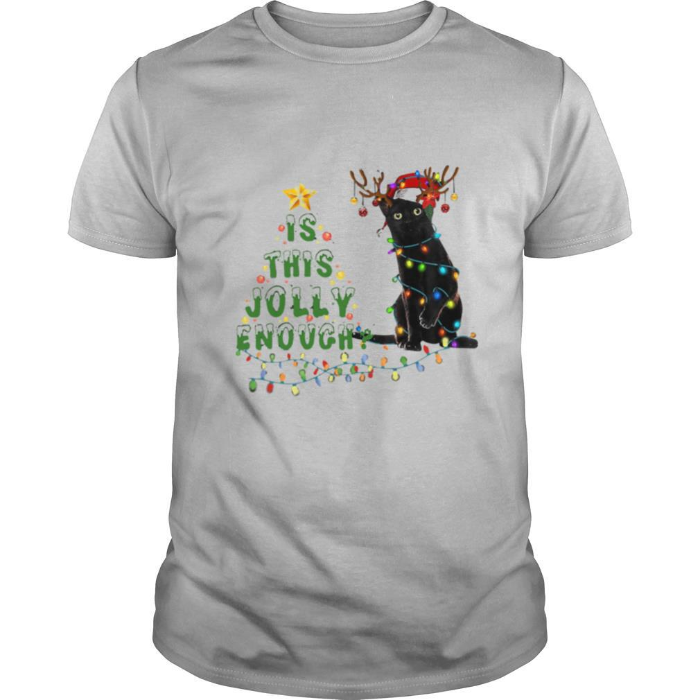 Is This Jolly Enough Merry Christmas Tree shirt