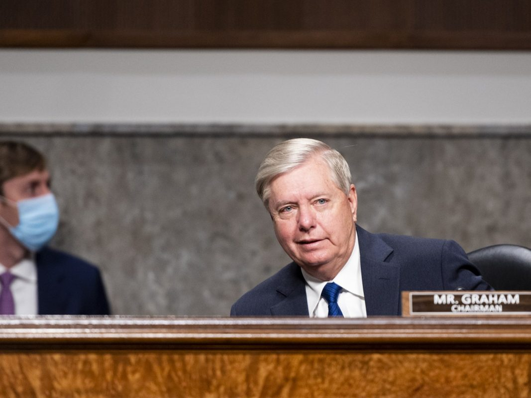 Lindsey Graham Says He Discussed Election Concerns With Officials in Key States Trump Lost