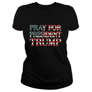 Pray for trump peace and love 2020 shirt