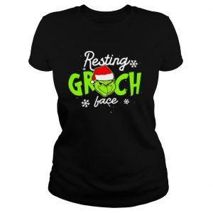 Resting Grinch Face Merry Christmas shirt