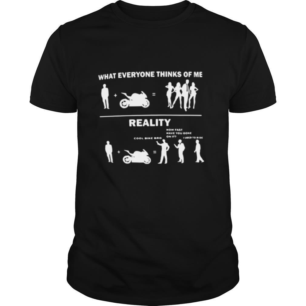 What Everyone Thinks Of Me Reality shirt