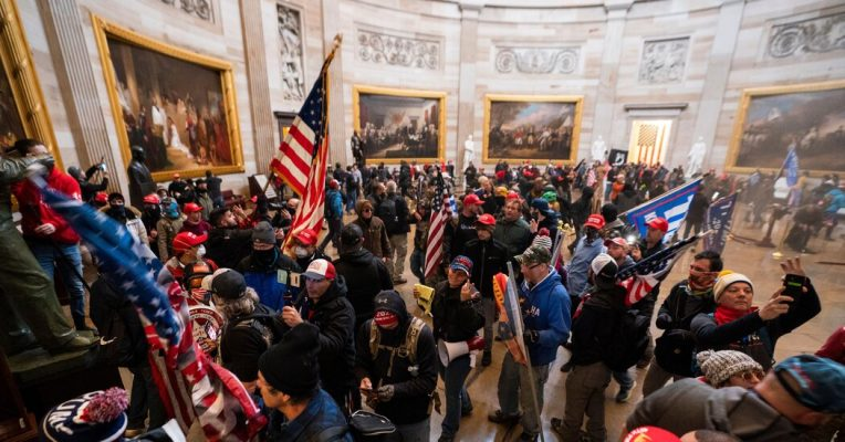 Olympic Gold Medalist Was Part of Crowd That Invaded Capitol