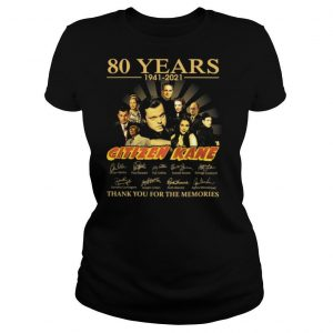 08 Years 1941 2021 Citizen Kane Signatures Thank You For The Memories Shirt