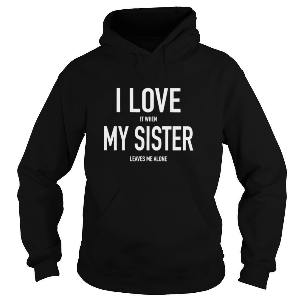 Brother Loves His Sister Siblings Twins Shirt