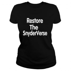 Restore the SnyderVerse shirt