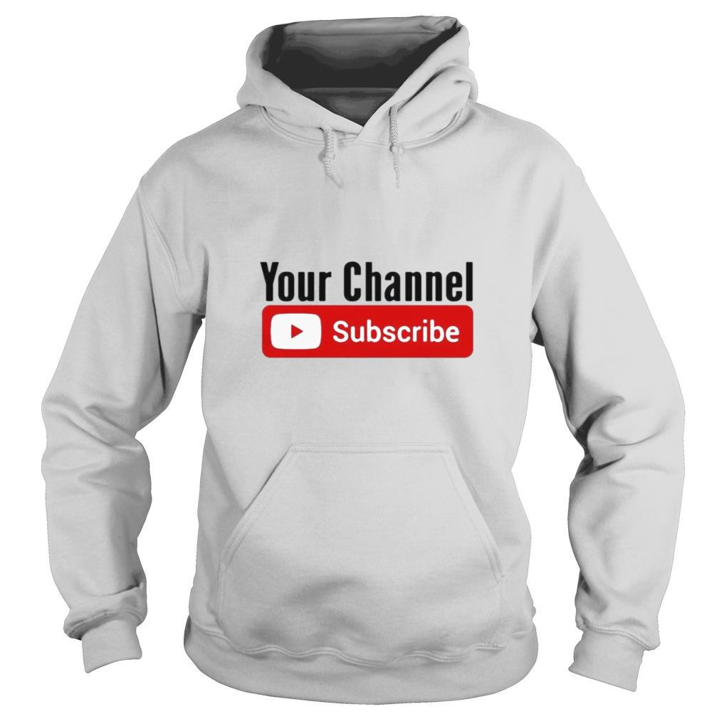 Subscribe YouTube shirt