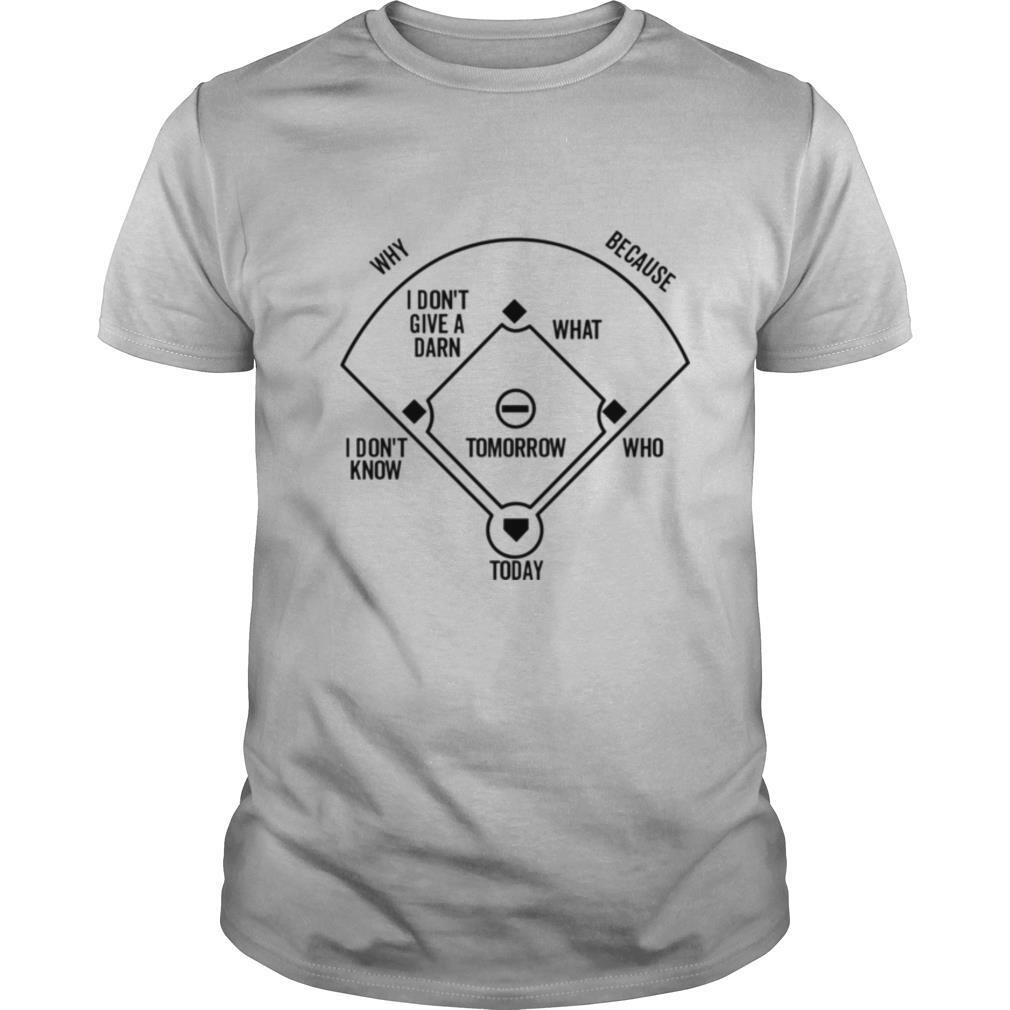 Who's on First Positions shirt