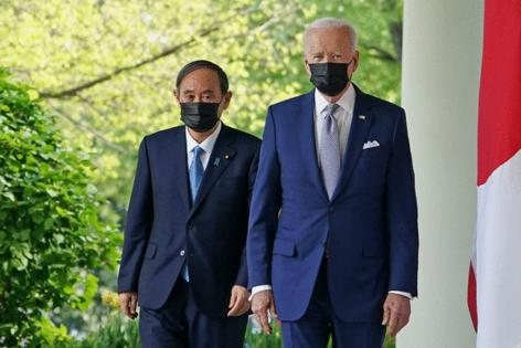Japan gains backing from Biden G-7 for staging 'safe' Olympics