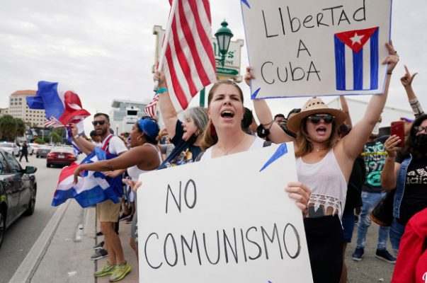 Biden says US will hit Cuba with more sanctions unless there's 'drastic change'